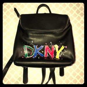 SOLD Dkny bucket backpack new without tags